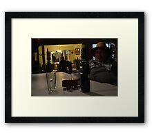 Dark and Sorrows  Framed Print
