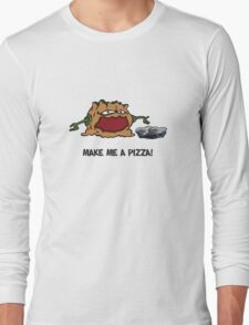 Arno the Tree Troll at Pizza Pass Long Sleeve T-Shirt