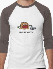 Arno the Tree Troll at Pizza Pass Men's Baseball ¾ T-Shirt