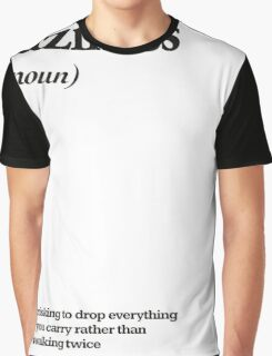 laziness Graphic T-Shirt