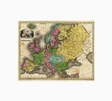 Vintage Map of Europe (1842) Unisex T-Shirt