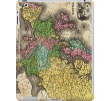 Vintage Map of Europe (1842) iPad Case/Skin