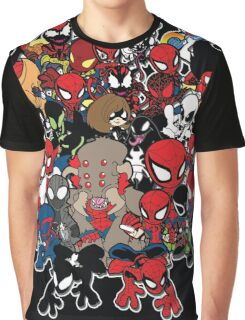 Spidey across time and space Graphic T-Shirt