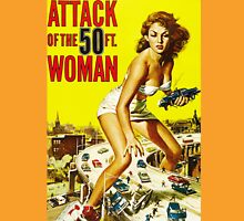 Attack of the 50ft Woman poster Unisex T-Shirt