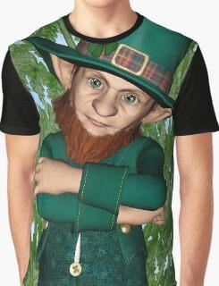Leprechaun Graphic T-Shirt