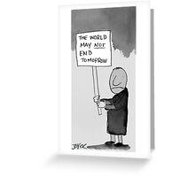 oh damb!  Greeting Card
