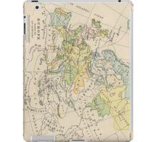 Vintage Map of Europe (1905) iPad Case/Skin
