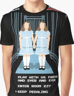 All Play and No Work Graphic T-Shirt