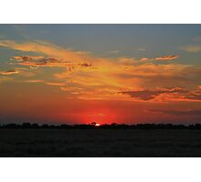 Colourful Sunset Photographic Print