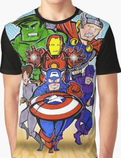 Mighty Heroes Graphic T-Shirt