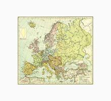 Vintage Map of Europe (1918) Unisex T-Shirt