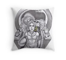 The Puppet Master Throw Pillow