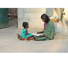 Gaze And Learn, India Photographic Print