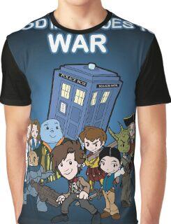 Demons Run When A Good Man Goes to War Graphic T-Shirt