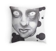 The Dead Look Throw Pillow