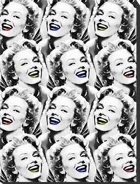Marilyn Monroe - Heaven - Pop Art by wcsmack