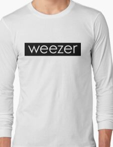 weezer box logo  Long Sleeve T-Shirt