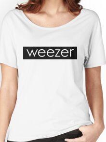weezer box logo  Women's Relaxed Fit T-Shirt