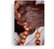 Rosary. Canvas Print