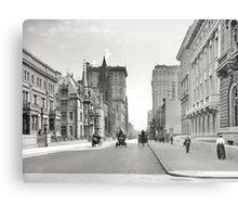 Vintage Fifth Avenue NYC Photograph (1908) Metal Print