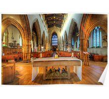 Loughborough Church Altar Poster