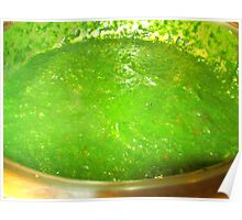 green SAUCE Poster