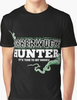 Jabberwocky Hunter Graphic T-Shirt
