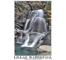 lillaz waterfall Photographic Print