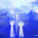 ANGELS TAKING THEIR LOVE ONES TO HEAVEN by Sherri     Nicholas