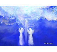 ANGELS TAKING THEIR LOVE ONES TO HEAVEN Photographic Print