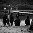 Patonga Creek Wharf by Jason Ruth