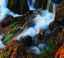 Willow River Falls 3 by Gypsykiss