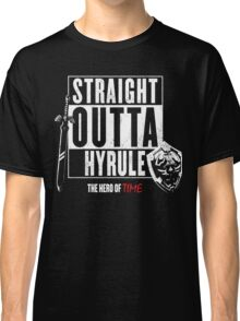 Straight Outta Hyrule - Legend of Zelda Tee Classic T-Shirt