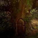 Secret of the old tree by Marie Luise  Strohmenger