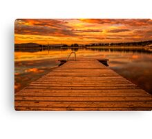 ~Red Sunset~ Canvas Print