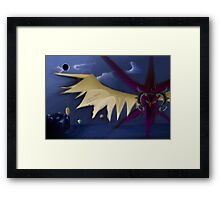 Zodiark-The Last Eclipse Framed Print