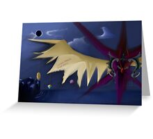 Zodiark-The Last Eclipse Greeting Card