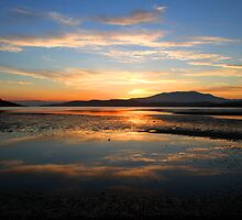 Summer sunset over Ralph's Bay - Tasmania by clickedbynic
