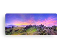 Beacon Hill Sunrise 3.0 Pano Canvas Print
