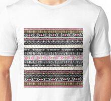 Hand paint tribal Aztec geometric design Unisex T-Shirt