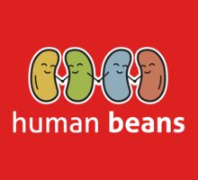 Human Beans logo only Kids Tee