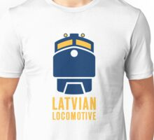 Latvian Locomotive Unisex T-Shirt