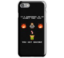 DANGEROUS TO FRY ALONE! iPhone Case/Skin