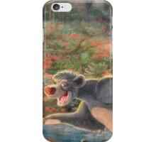 Story Book Jungle Book Animal Characters Baloo Bear Mowgli  iPhone Case/Skin