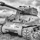 Sherman tank M4 by cameraimagery2