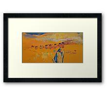 Caravan Framed Print
