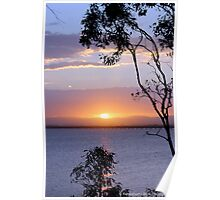 Sunset over Queensland Poster
