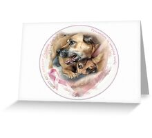 Breast Cancer Awareness-( In Dogs ) Greeting Card