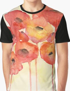 Red Poppy Graphic T-Shirt