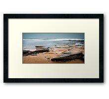 Evening Waves Framed Print